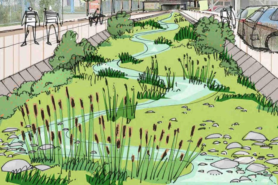 Millionen-Projekt: Dresden plant Seidnitzer Promenade