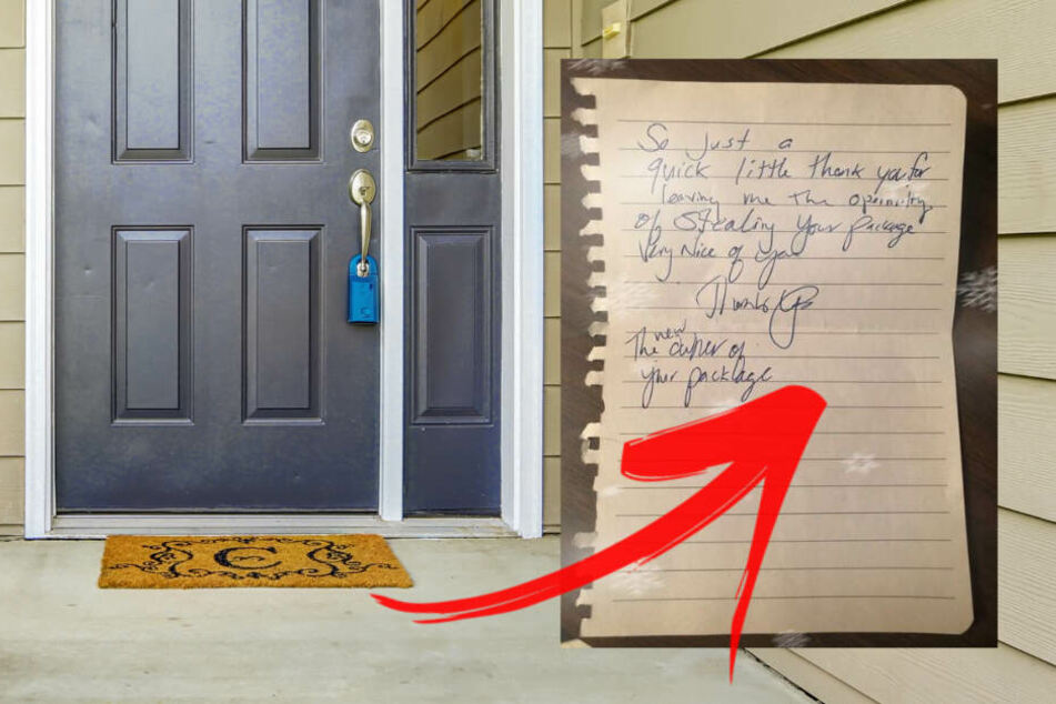 Dieb klaut Paket vor Haustür: Kaum zu fassen, was er hinterlässt