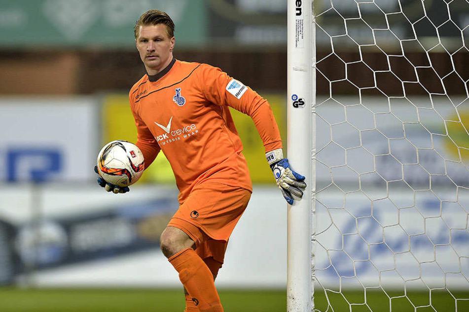 Neuzugang Michael Ratajczak hat in der zweiten Hälfte Stammkeeper Lukas Kruse ersetzt.