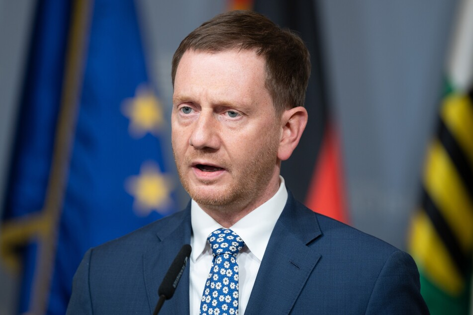 Michael Kretschmer (45, CDU), Ministerpräsident von Sachsen.