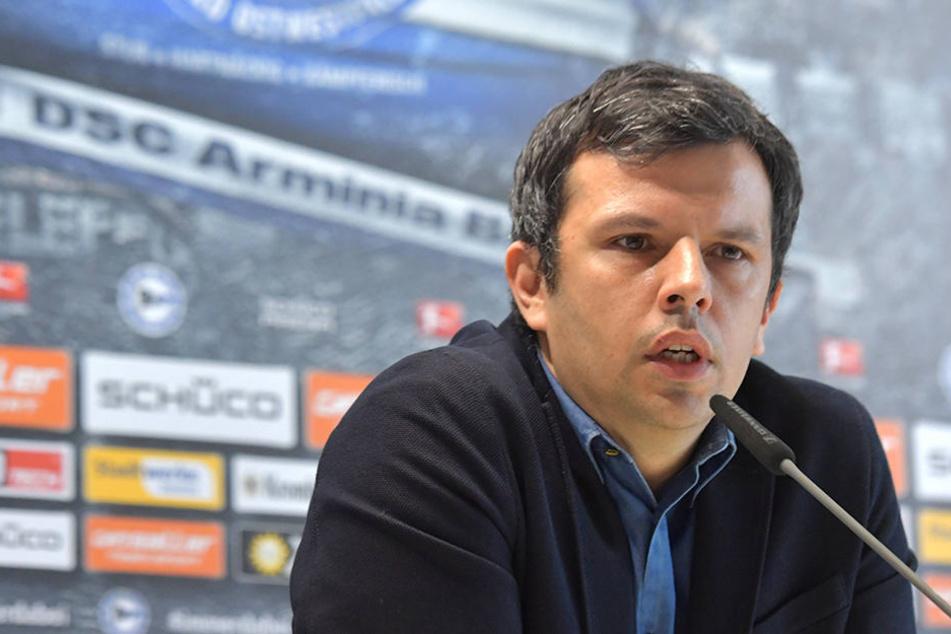 Nach der Meinung von Sport-Geschäftsführer Samir Arabi (38) müsste die Mannschaft mit Selbstvertrauen in die kommenden Aufgaben gehen.