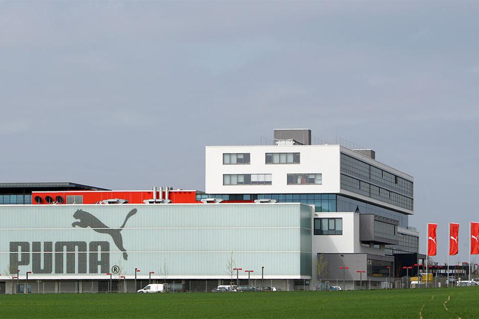 Der PUMA-Hauptsitz im mittelfränkischen Herzogenaurach