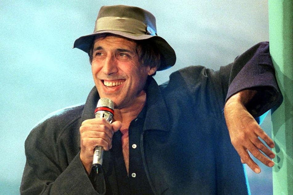 Der italienische Schauspieler, Produzent und Sänger Adriano Celentano bei einem Auftritt im Oktober 1994.