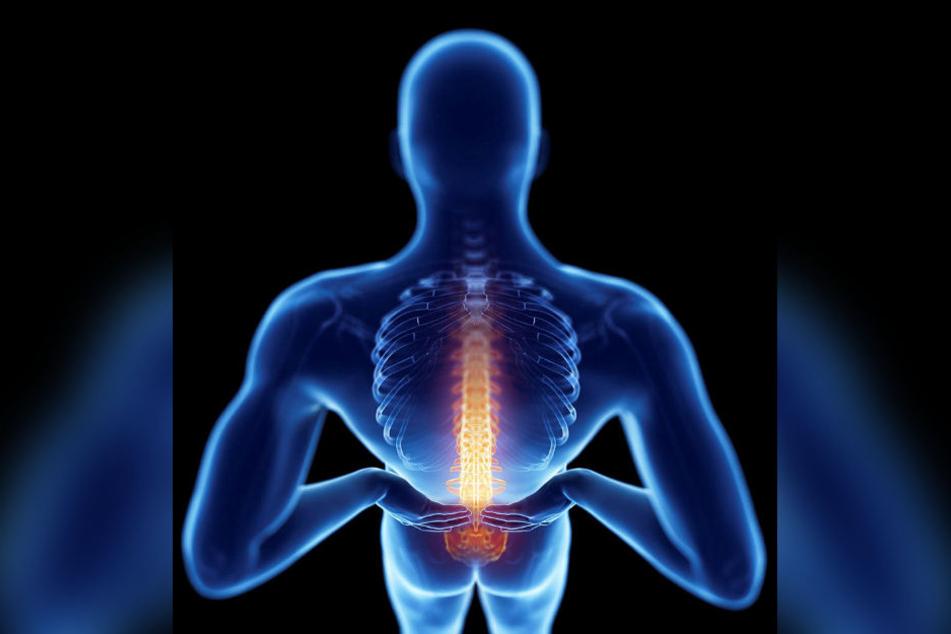 Die Wirbelsäule hält unseren Körper aufrecht. Ihre Knochen werden normalerweise erst im hohen Alter porös, doch es gibt Ausnahmen.