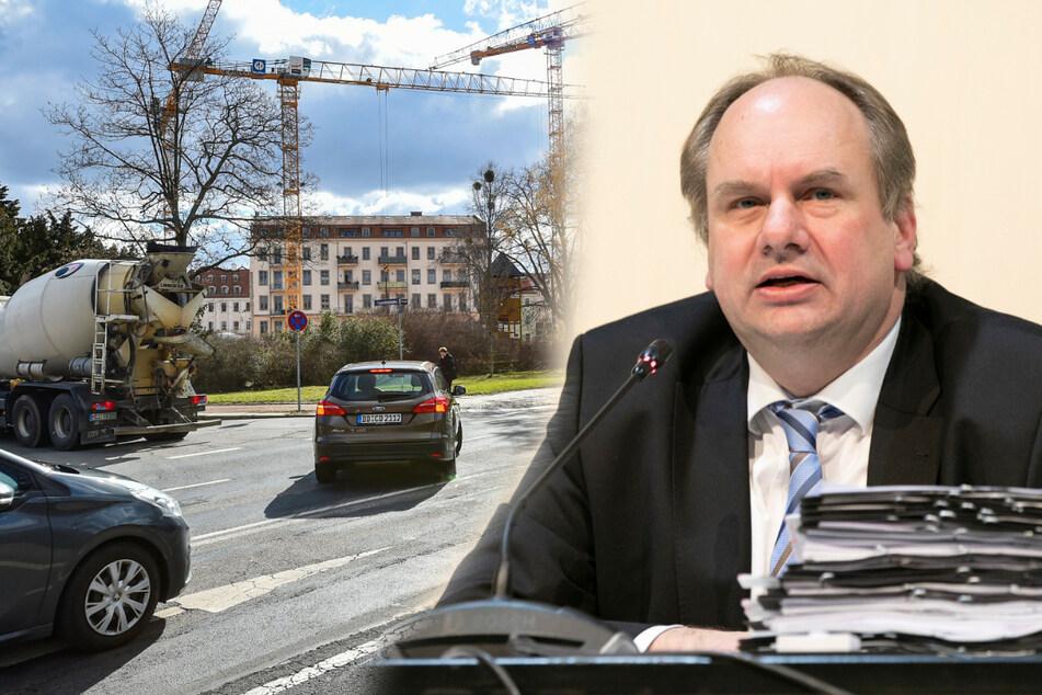 Dresden: Abbiegen weiter erlaubt: Hilbert hält den Weg frei