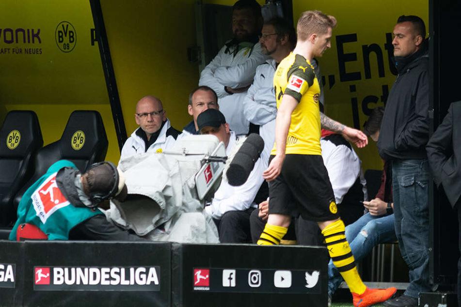 5,38 Millionen Zuschauer sahen das hitzige Revierderby zwischen Borussia Dortmund und dem FC Schalke 04 live in der ARD.