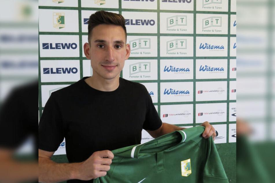 Linksverteidiger Denny Krahl (28) stößt in der kommenden Saison von Budissa Bautzen zu Chemie Leipzig.