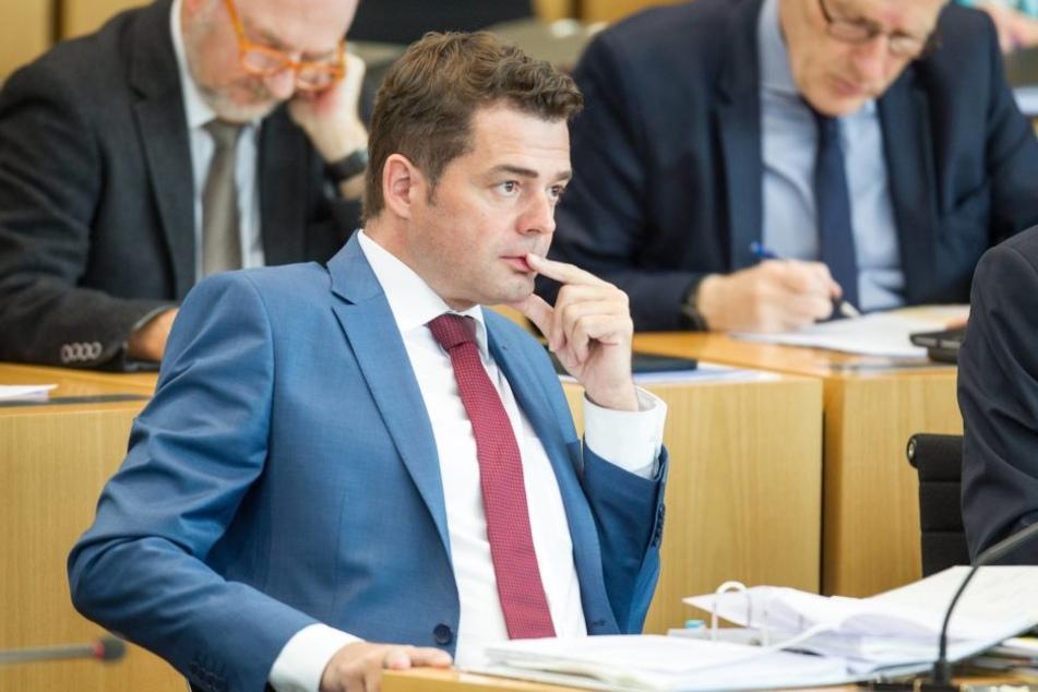 CDU-Fraktions-Chef Mike Mohring.