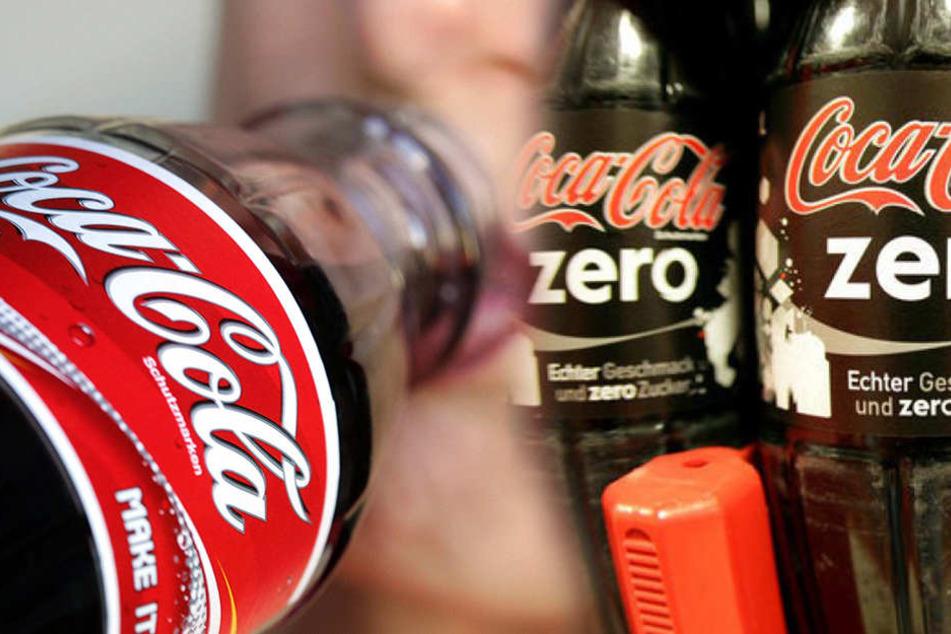 Statt Cola solltest Du vielleicht lieber Cola Zero trinken.