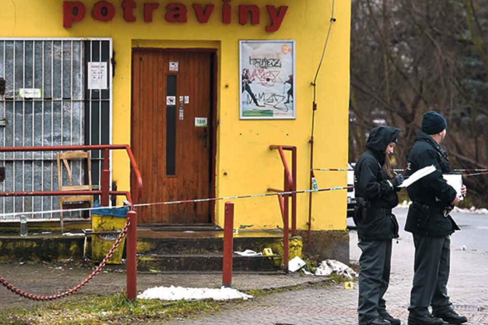 Sofort nach dem Überfall nahm die Kripo die Ermittlungen auf.