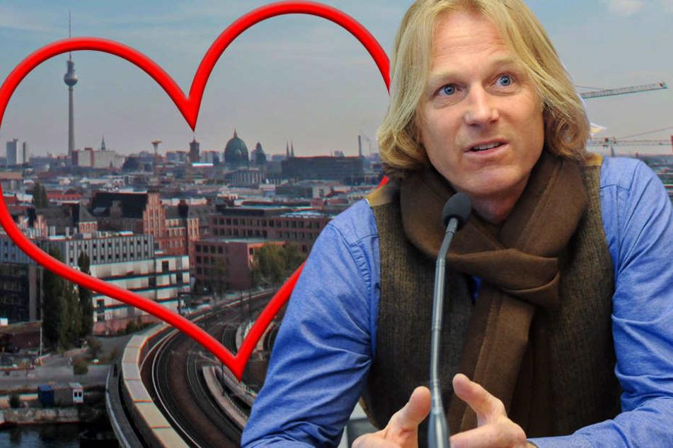 """Clausen ist der Produzent von """"Berlin, I Love You""""."""
