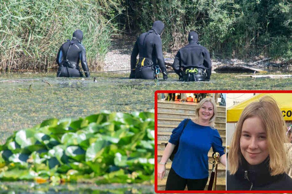 Mutter und Tochter verschwunden: Polizei sucht mit Tauchern und Heli nach Leichen!