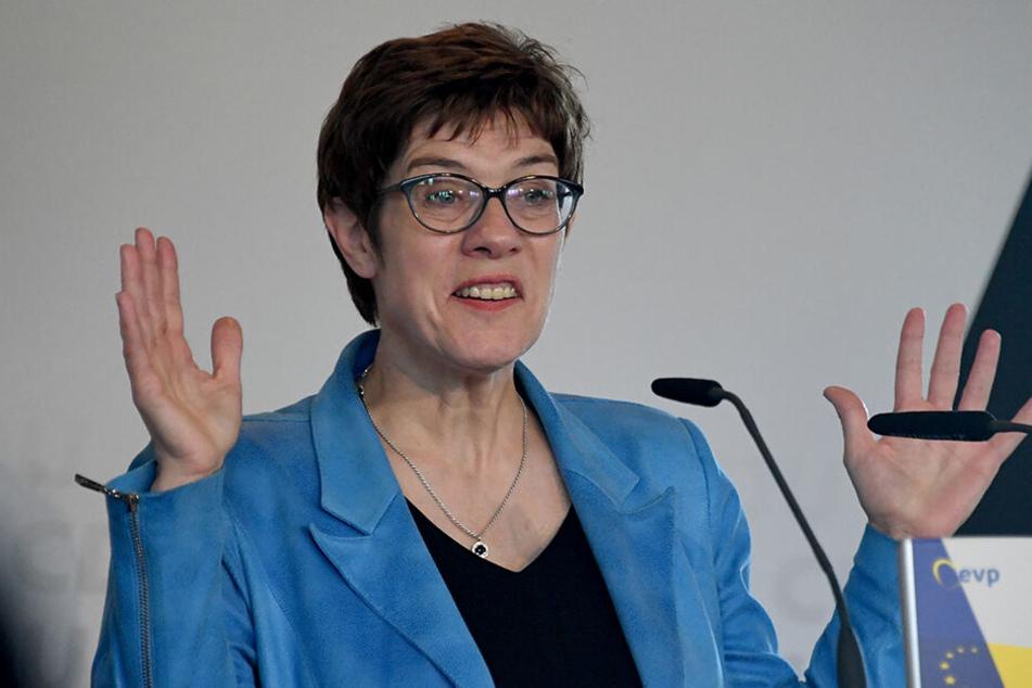 Als Christdemokratin offenbar nicht ganz bibelfest: Annegret Kramp-Karrenbauer.