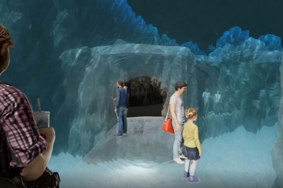 Der Zoo plant 2019 den Bau eines 360-Grad-Unterwassertunnels.