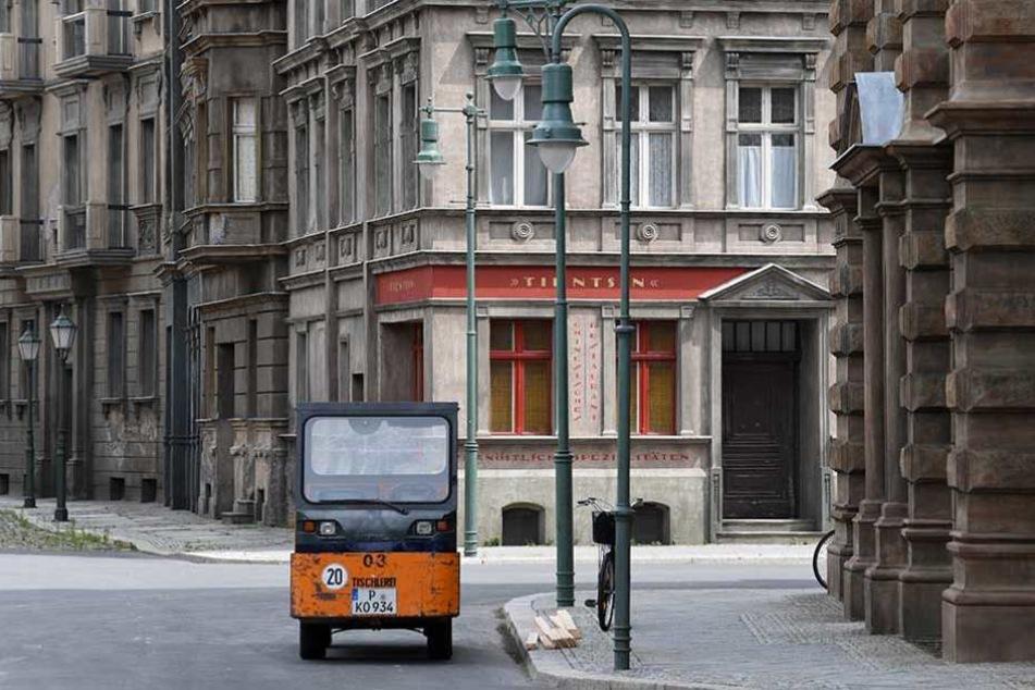 In dieser Berliner Straße ist nichts so, wie es aussieht