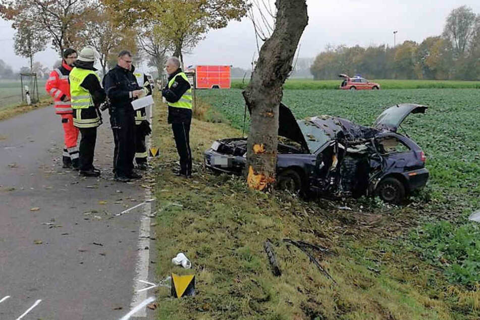 Der Zweijährige starb bei dem Unfall.