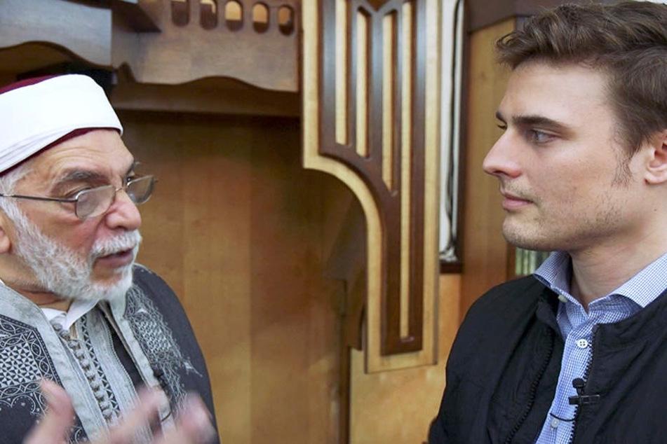 """""""Der Moscheen-Report"""" läuft in drei Teilen bei der ARD. Weitere Episoden: 24. April und 22. Mai, 21.15 Uhr."""