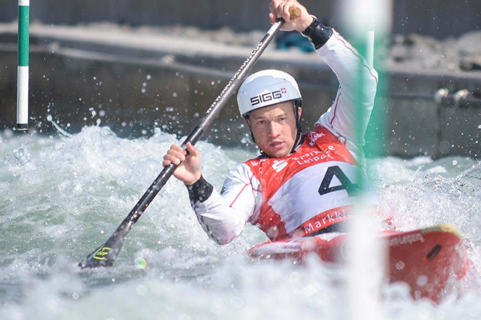 Franz Anton (27) will nach zwei Jahren endlich seinen Konkurrenten Sideris Tasiadis besiegen.