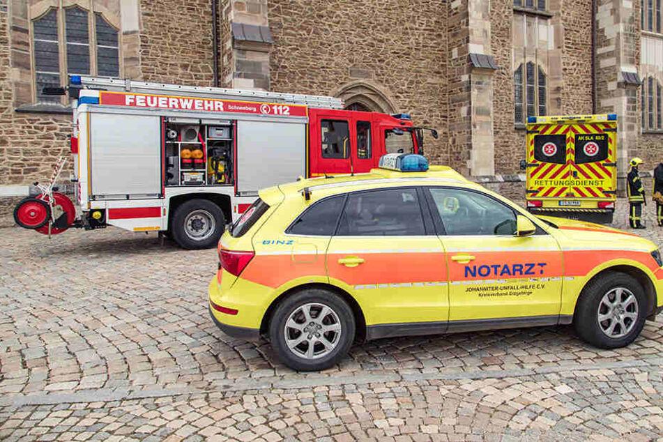 Mehrere Bewohner erleiden Reizungen: Gasalarm im Erzgebirge