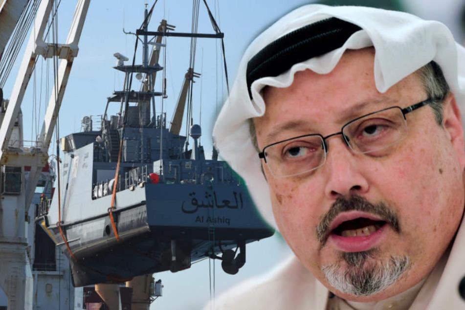 Ermordeter Khashoggi: Deutschland stoppt Waffenlieferung nach Saudi-Arabien