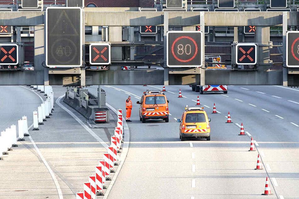 Freie Fahrt auf der A7: Bauarbeiten früher fertig