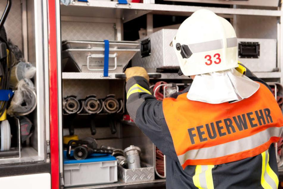 Die Feuerwehr konnte den Brand schnell löschen (Symbolbild).