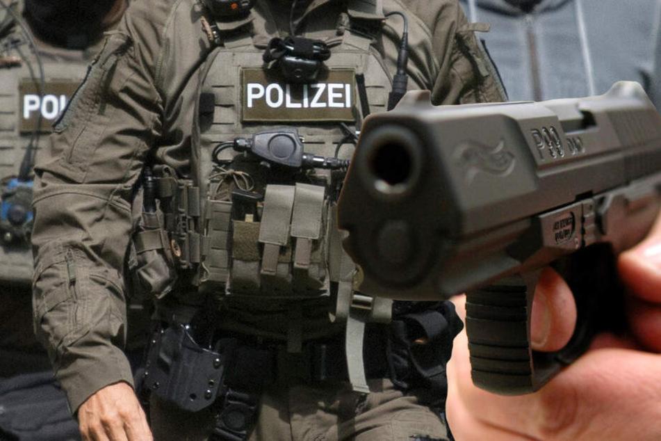 Am Samstagnachmittag wurden der Polizei die Schüsse in Würzburg gemeldet (Symbolbild).