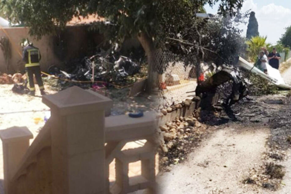 Sieben Tote bei Kollision von Flugzeug und Hubschrauber auf Mallorca
