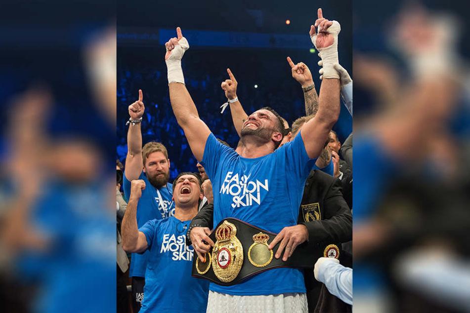 Manuel Charr ist nach Max Schmeling der erste deutsche Schwergewichts-Weltmeister.