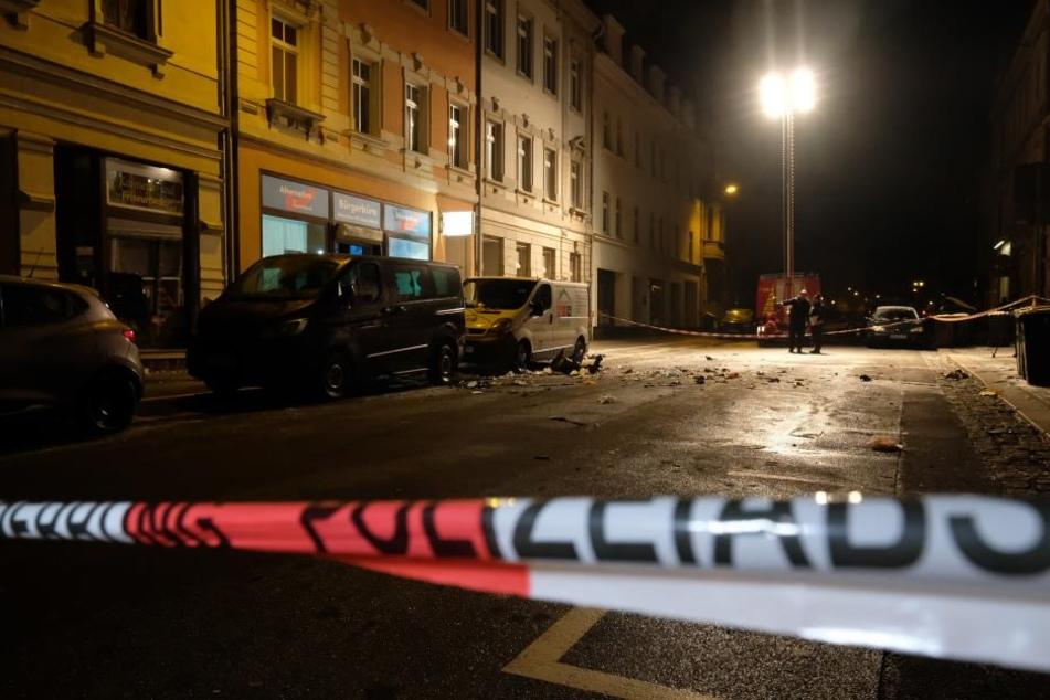 Nach Explosion vor AfD-Büro: Drei Tatverdächtige festgenommen