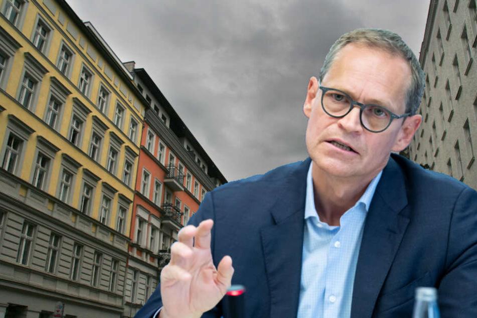 Berliner Senat plant Entwurf: Quadratmeter soll nur noch acht Euro kosten