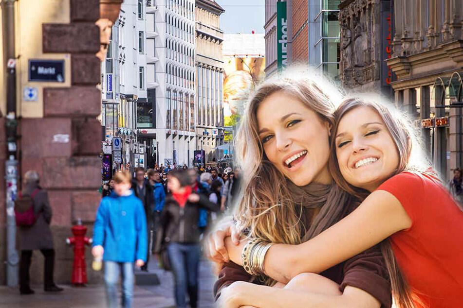 In der Leipziger Innenstadt finden ab 14 Uhr tolle Aktionen zum Weltmädchentag statt.