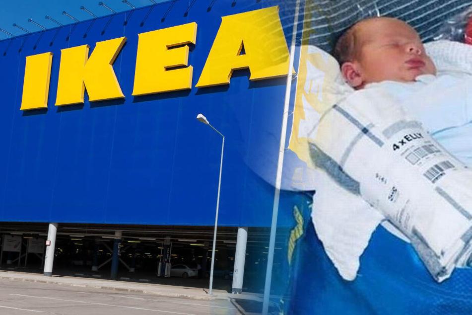 Beim Köttbullaressen platzte die Fruchtblase: Mutter bekommt IKEA-Baby