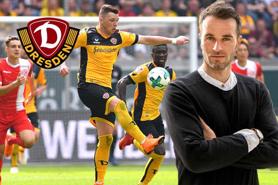 Sportchef Kristian Walter stellt klar: Kein Ausverkauf bei Dynamo!