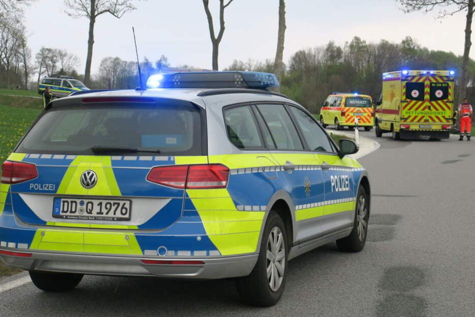 Polizei und Rettungswagen waren vor Ort.