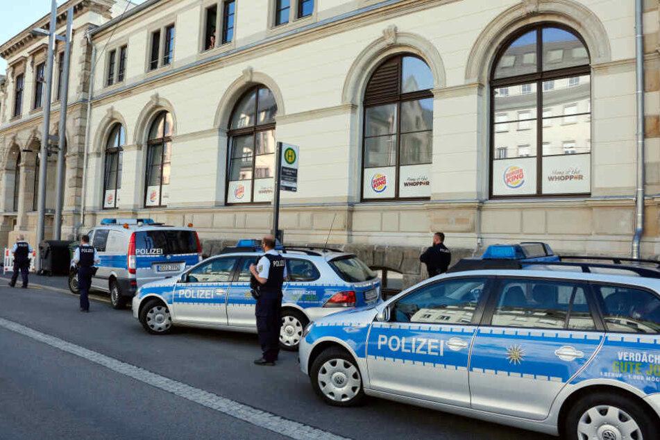 Am Freitag wurde im Chemnitzer Hauptbahnhof ein verdächtiges Gepäckstück gefunden.