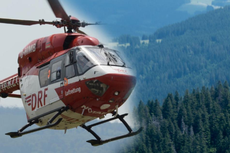 Schweres Unglück! Rentner (77) stürzt beim Wandern im Schwarzwald 50 Meter in die Tiefe