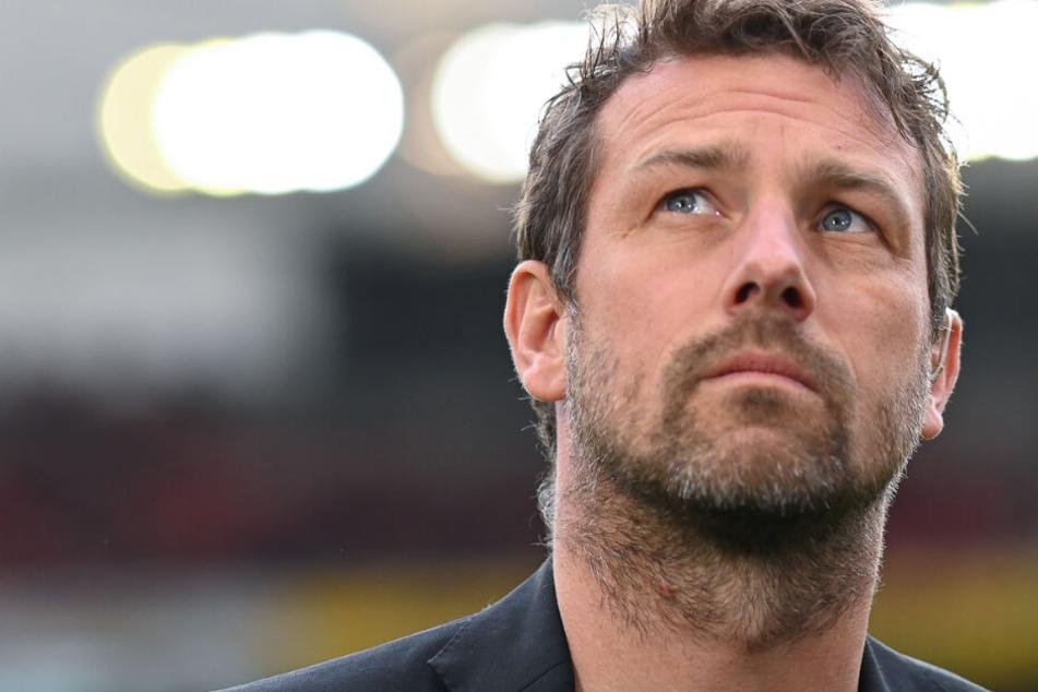 Erstmal seinen Kopf aus der Schlinge gezogen: VfB-Coach Markus Weinzierl.