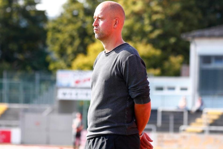 Timo Rost an der Seitenleine des SpVgg Bayreuth, seinem aktuellen Verein.