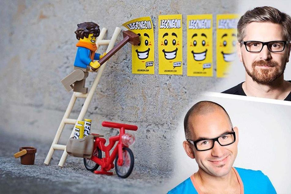 Machen Lego-Männel diese beiden Dresdner bald reich und berühmt?