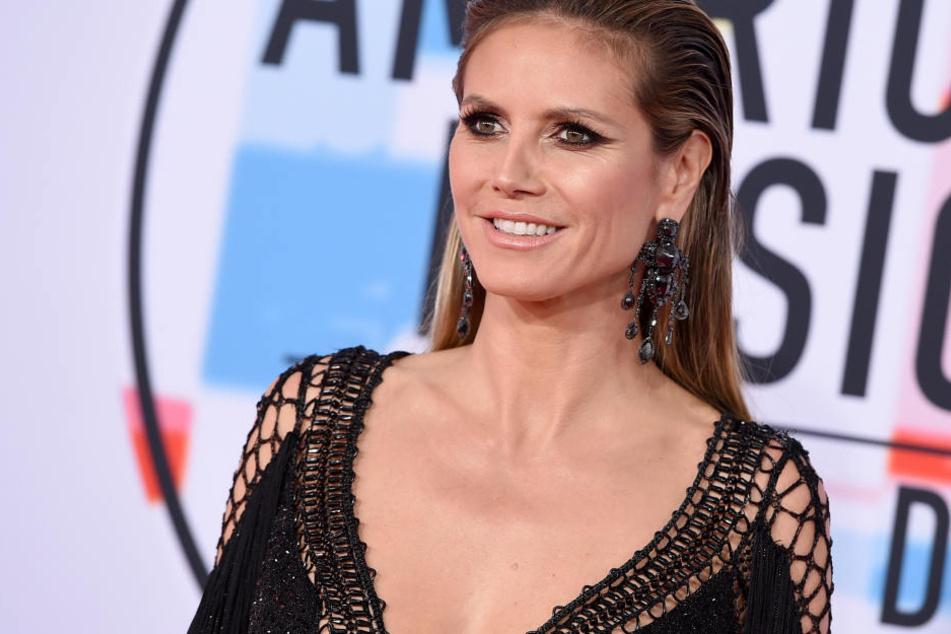 """Heidi Klum (45) steht aktuell für """"Germany's next Topmodel"""" vor Kamera. Da bleibt für Tom wenig Zeit."""