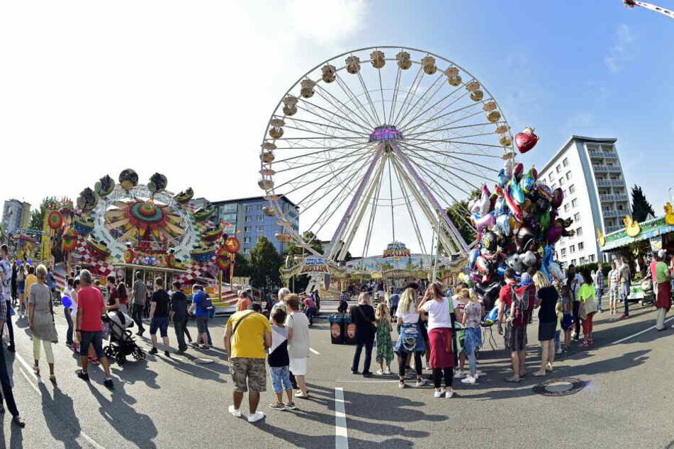 Der Sicherheitsaufwand für das Chemnitzer Stadtfest hätte in diesem Jahr deutlich erhöht werden müssen.