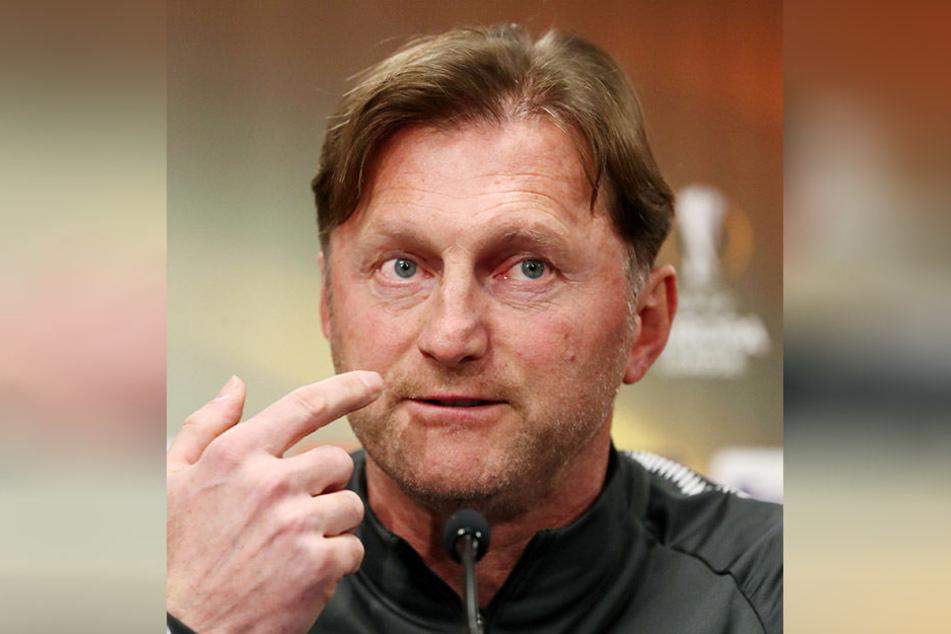 Ist sich sicher, dass das Rückspiel kein Spaziergang wird: RB Leipzigs Trainer Ralph Hasenhüttl.