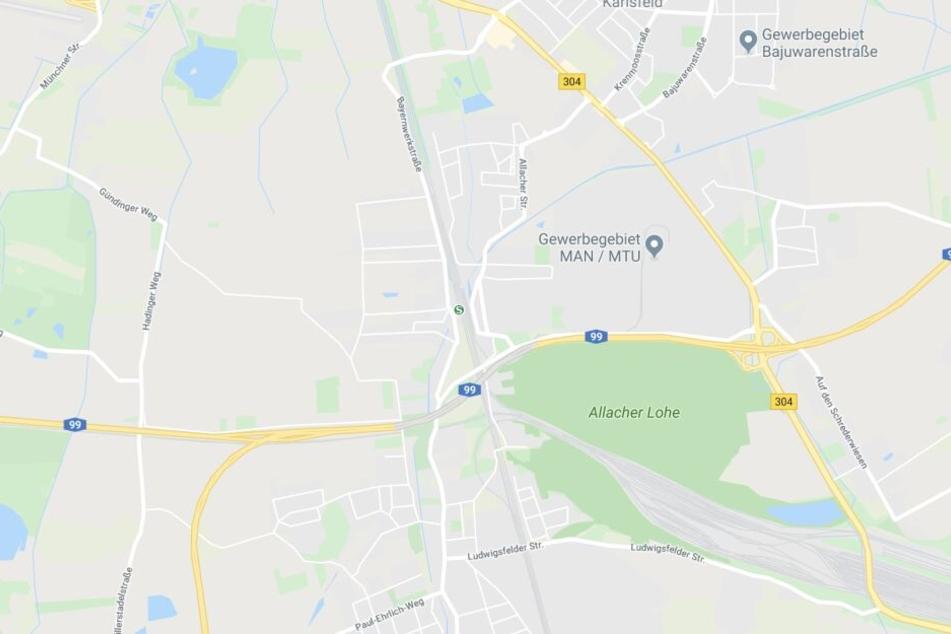 Der erschreckende Vorfall ereignete sich zwischen den S-Bahnhaltepunkten Karlsfeld und Allach.