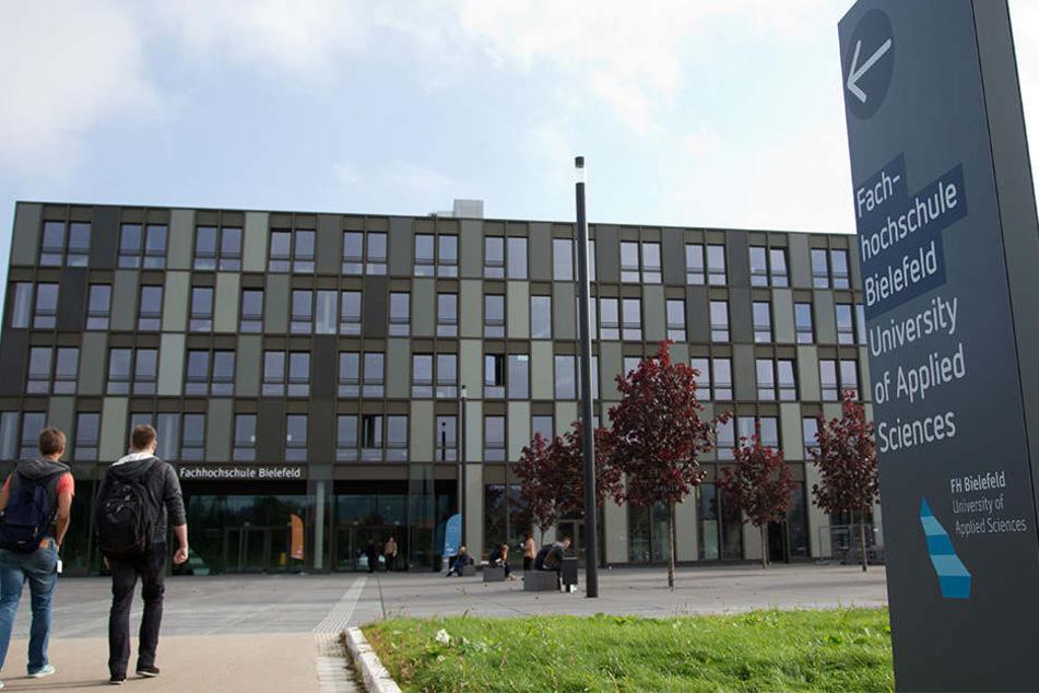 Die Fachhochschule Bielefeld soll um 7000 Quadratmeter erweitert werden.
