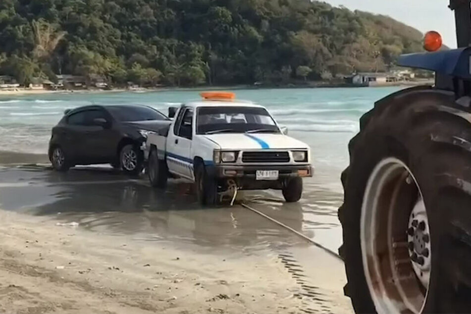 Der Mazda soll vor einem Motorschaden bewahrt worden sein.