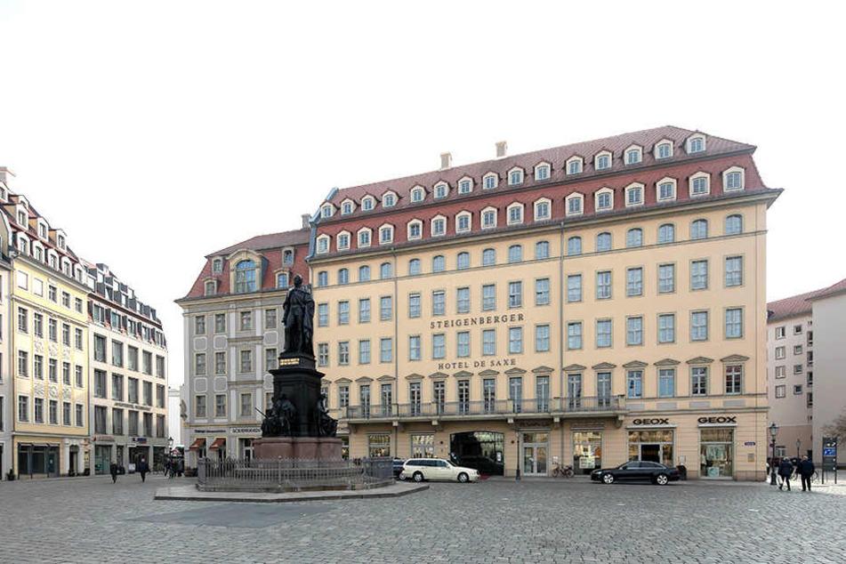 Im schicken Hotel Steigenberger am Neumarkt genoss der Zechpreller mehrere Übernachtungen mit Frühstück.