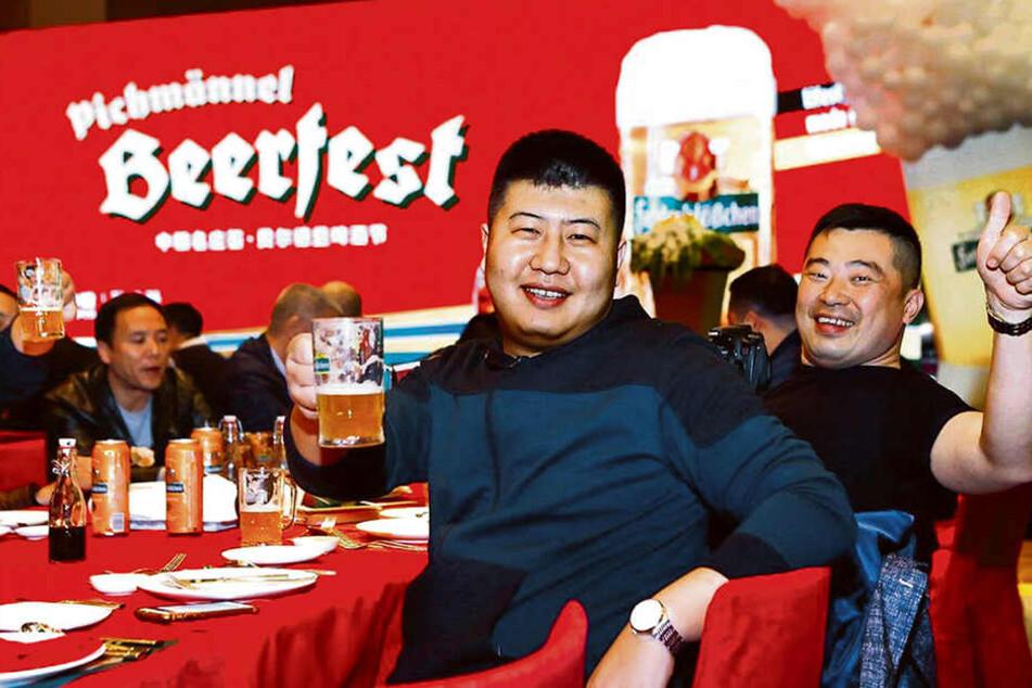 Meeega-beliebt bei Asiaten: Sächsisches Bier.