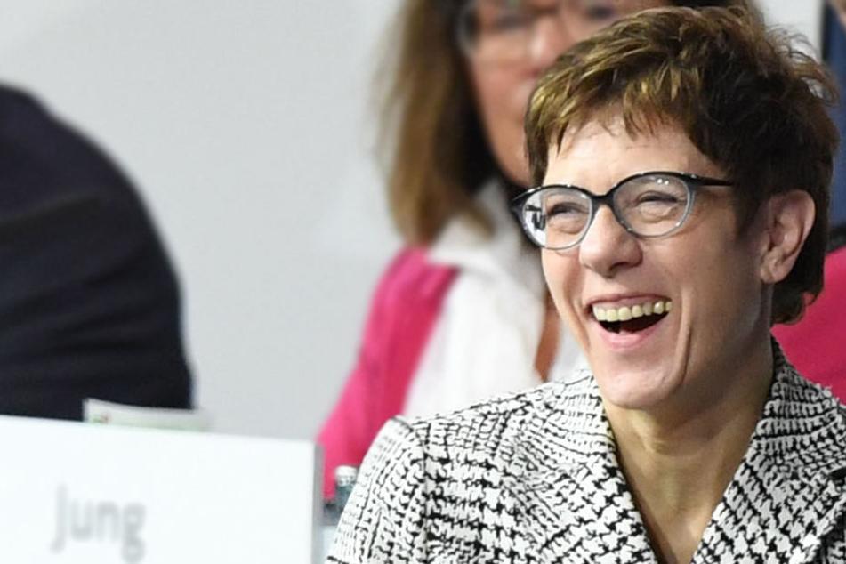 Annegret Kramp-Karrenbauer (56) ist die neue Parteichefin der CDU.