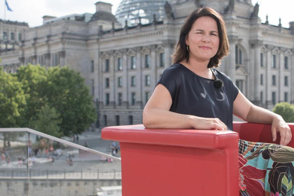 So will Grünen-Chefin Annalena Baerbock den Strukturwandel in der Lausitz lösen